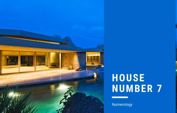 House Number 7 Numerology