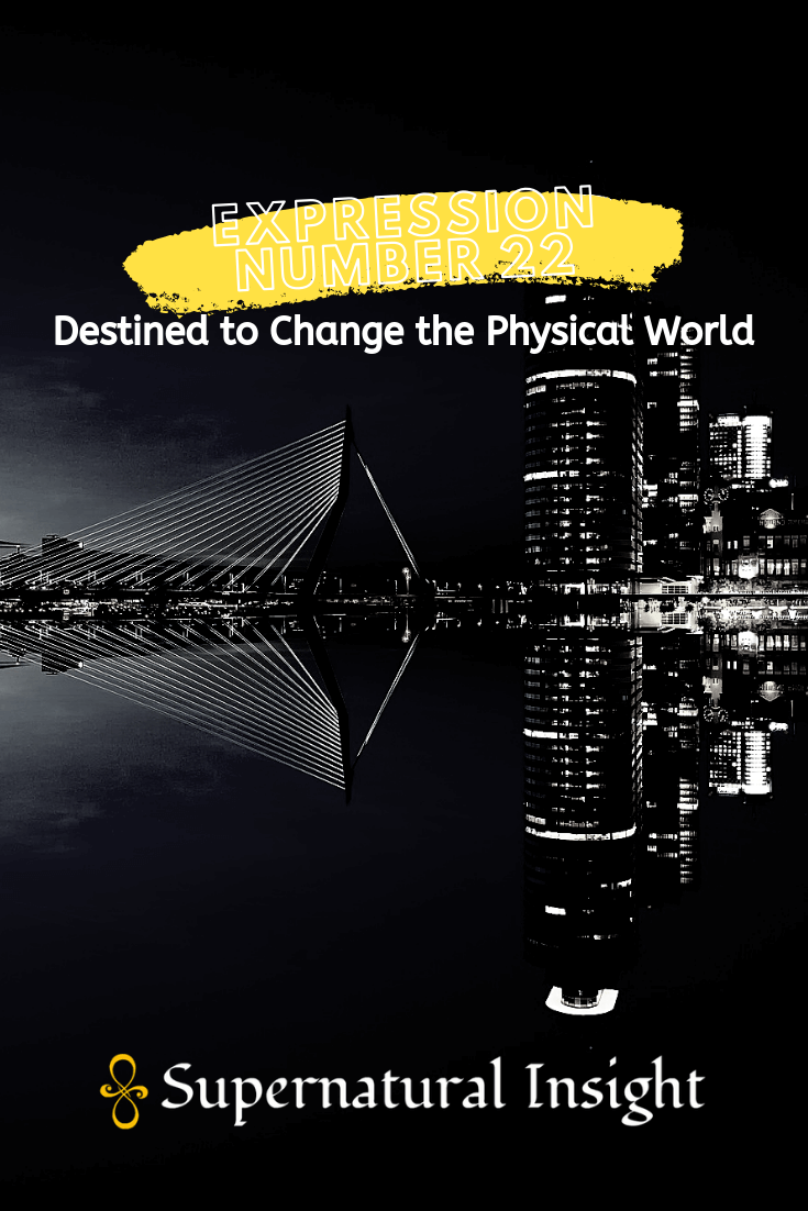 Expression Number 22 - Destined to Change the Physical World