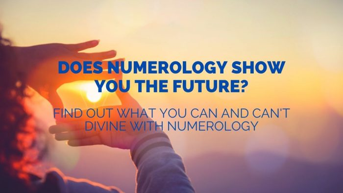 Can Numerology Tell the Future
