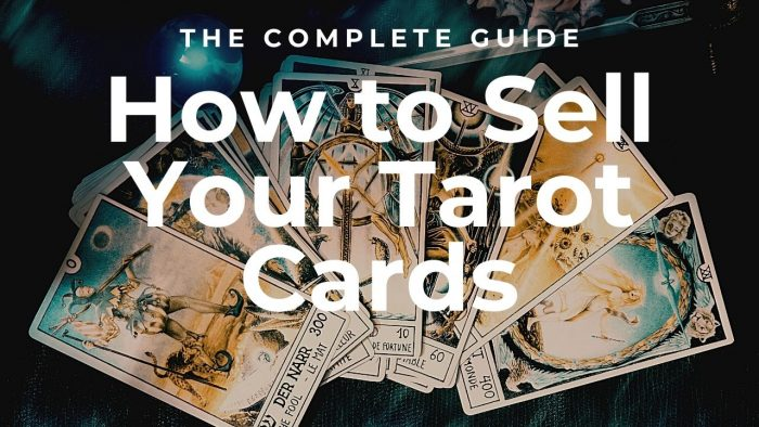 How to Sell Tarot Cards